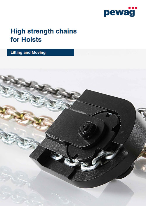 HIGH STRENGTH CHAINS FOR HOISTS